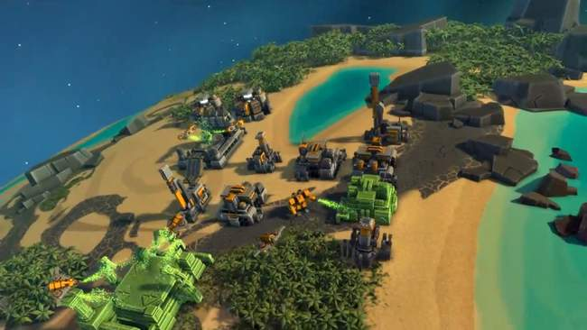 Planetary Annihilation PC Gameplay