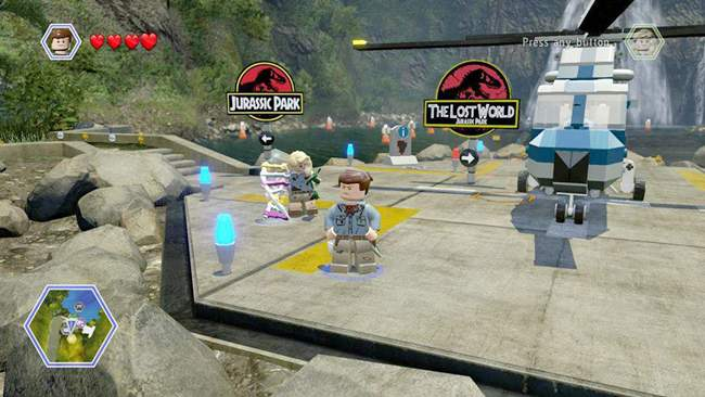 LEGO Jurassic World PC Gameplay