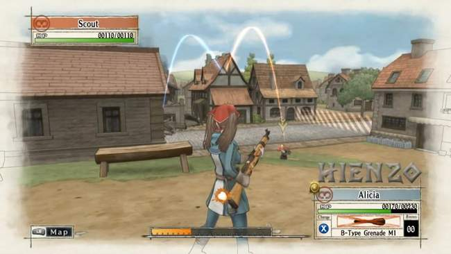Valkyria Chronicles PC Gameplay