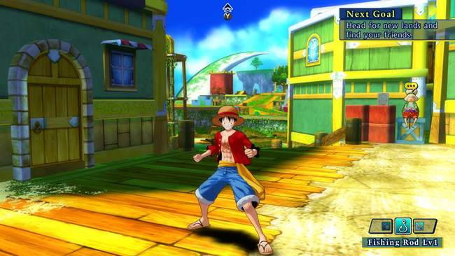 One Piece Unlimited World Red Free Download PC Game