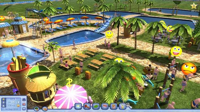 Water Park Tycoon Free Download PC Game