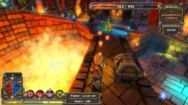 Dungeon Defenders The Tavern Free Download PC Game