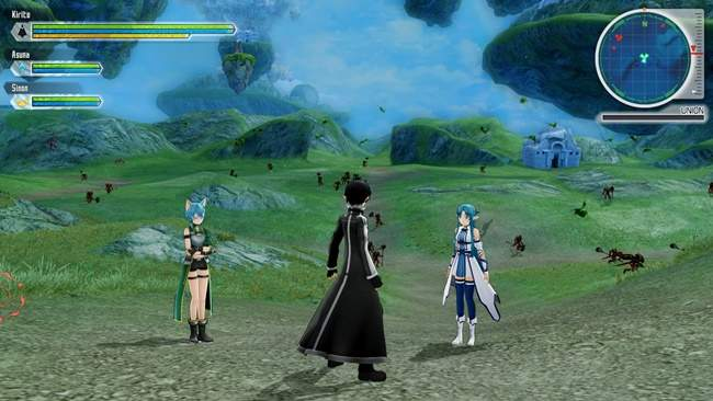 Sword Art Online Lost Song Free Download PC Game