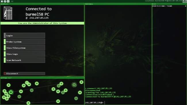 Hacknet Free Download PC Game